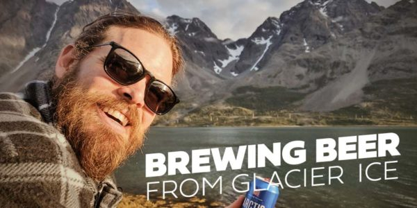 Brewing beer from Glacier Ice #1