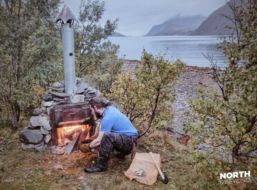 Pizza oven in Kvaløya
