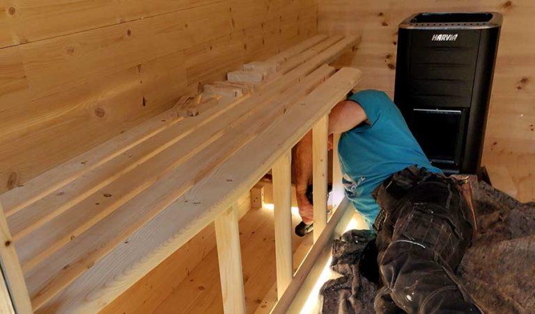 Sauna Building Tutorial
