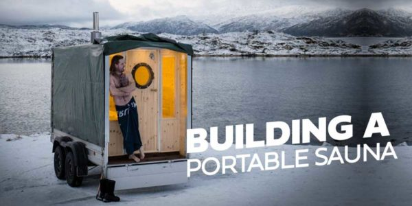 Building a portable Sauna #4